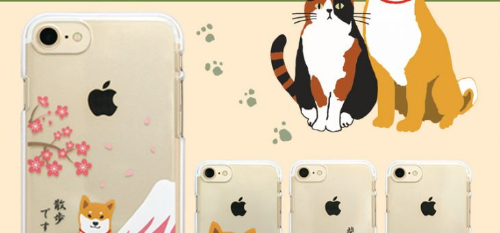 iPhone SE / 8 / 7 abbi FRIENDS しばたさん クリアケース