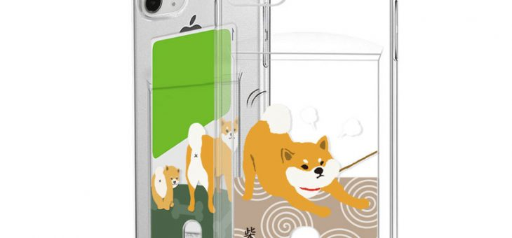 iPhone 11 / 11 Pro abbi FRIENDS しばたさん カードクリアケース
