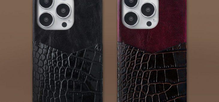 iPhone 12 mini / 12 / 12 Pro ABBI SIGNATURE イタリアン本革 コンビバックカバー LIPARI & CORFU